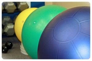 exercise balls atlantic rehab physio